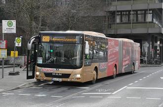 Schäfer Busse im Einsatz beim SEV